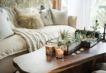 20 Ideas For Decorating Your Home With Glass Plant Terrariums - terrariums in home decor, terrariums, terrarium ideas, terrarium idea, terrarium, Home Decorating, home decor, decorating ideas, decorating idea, decorating, decor