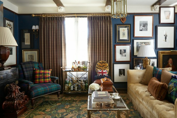 Decorating With Plaid: 21 Cozy Home Decor Ideas