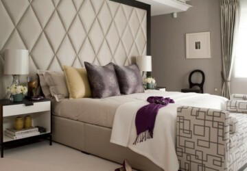 22 Statement-Making Headboards For Your Bedroom - Statement, home desing, home, headboards, headboard ideas, headboard idea, headboard, design, bedrooms, bedroom