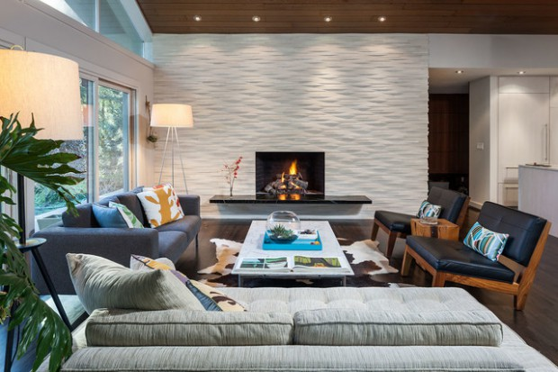 19 Textured Wall Designs Perfect For Your Living Room