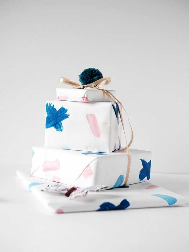 18 DIY Christmas Wrapping Gift Ideas