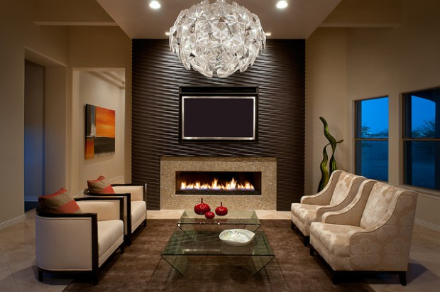 19 Textured Wall Designs Perfect For Your Living Room ...