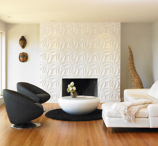 Textured Wall Designs Perfect For Your Living Room Style