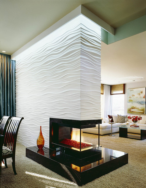 19 textured wall designs perfect for your living room Wall texture designs for living room