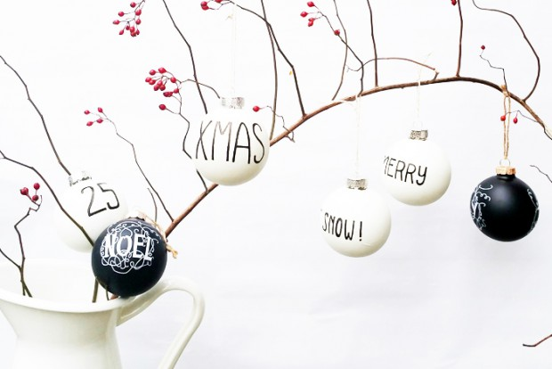 20 Adorable DIY Christmas Ornaments