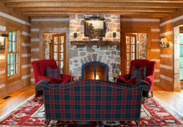 Decorating With Plaid: 21 Cozy Home Decor Ideas - tartan home decor, tartan, plaid home decor, plaid, home decor, home, cozy