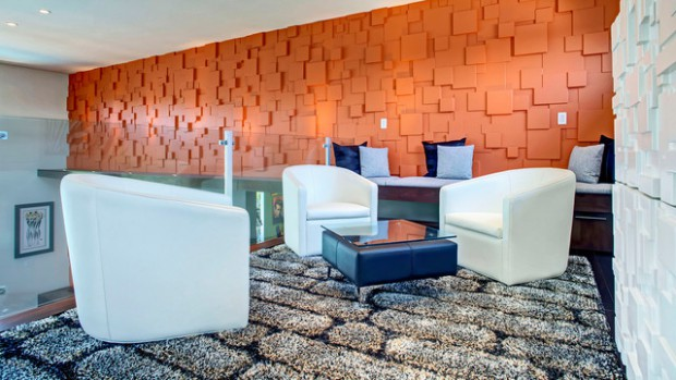 Charmant 19 Textured Wall Designs Perfect For Your Living Room