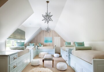 15 Genius Design Solutions for Every Attic - attic space, Attic Room, attic kids bedrooms, attic family room, attic design ideas, attic bedroom, attic