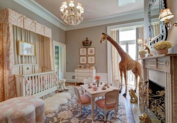 18 Lovely Nursery Design and Decor Ideas - Nursery room, Baby Room