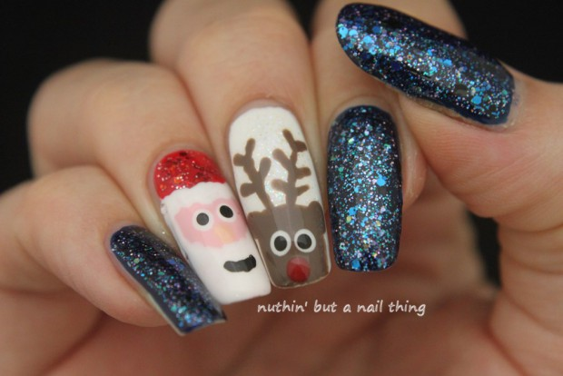 18 Festive Nail Art Ideas for Christmas