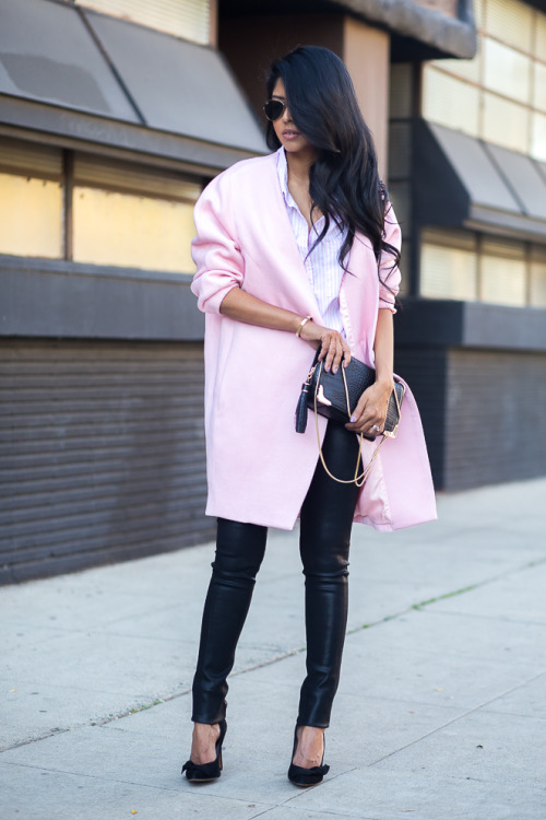 How to Style Leather Pants This Winter  18 Great Outfit Ideas