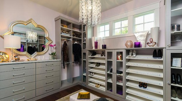 pink-and-gray-closet-slanted-shoe-shelves