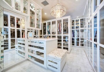 20 Lovely Design and Decor Ideas for Closet - Closet organization, closet design ideas, closet decor, Closet