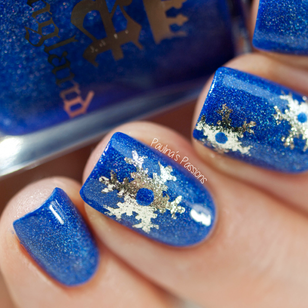 20 Gorgeous Winter Inspired Nail Art Ideas