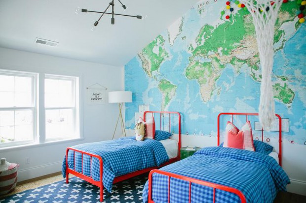 world-map-paper-mural-land-of-nod-primary-bed