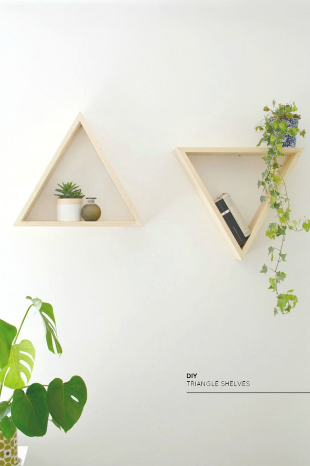 15 Brilliant and Unique DIY Shelf Ideas
