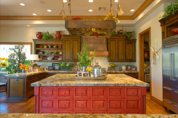 21 Stunning Mediterranean Kitchen Designs