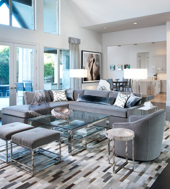 21 Fabulous Living Rooms With Grey Sofas