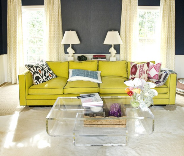 27 Chic Acrylic Coffee Tables