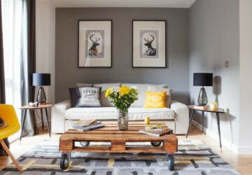 How To Use Pallets in Home Decor -  20 Interesting Ideas - pallets, pallet furniture, pallet, home decor, home, furniture, diy