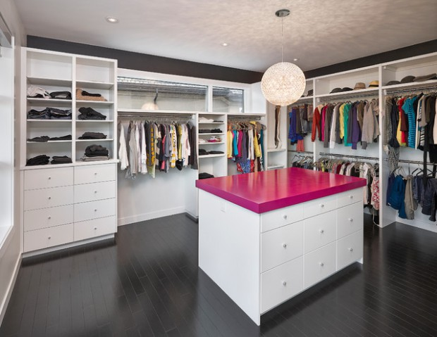 21 elegant walk in closet design ideas style motivation for Studio closet design