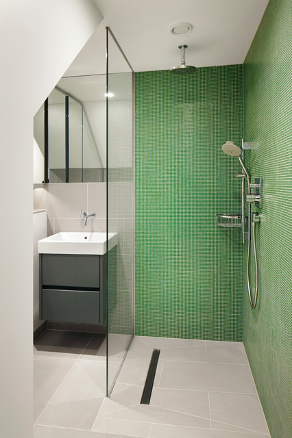 18 Relaxing and Fresh Green Bathroom Designs