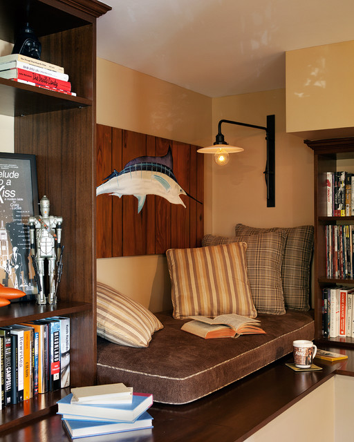 These Creative Man Cave Ideas Will Help You Relax In Style: 18 Cozy Reading Nook Ideas