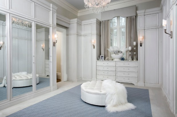 21 Elegant Walk In Closet Design Ideas - Style Motivation