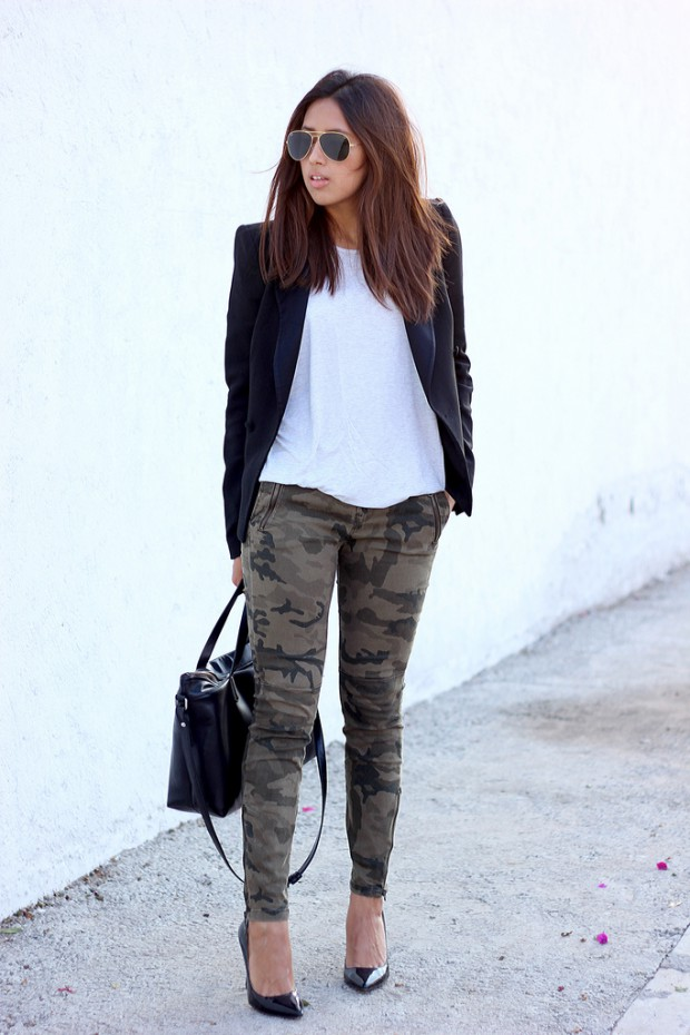 20 Casual Everyday Cargo Pants Outfit Ideas