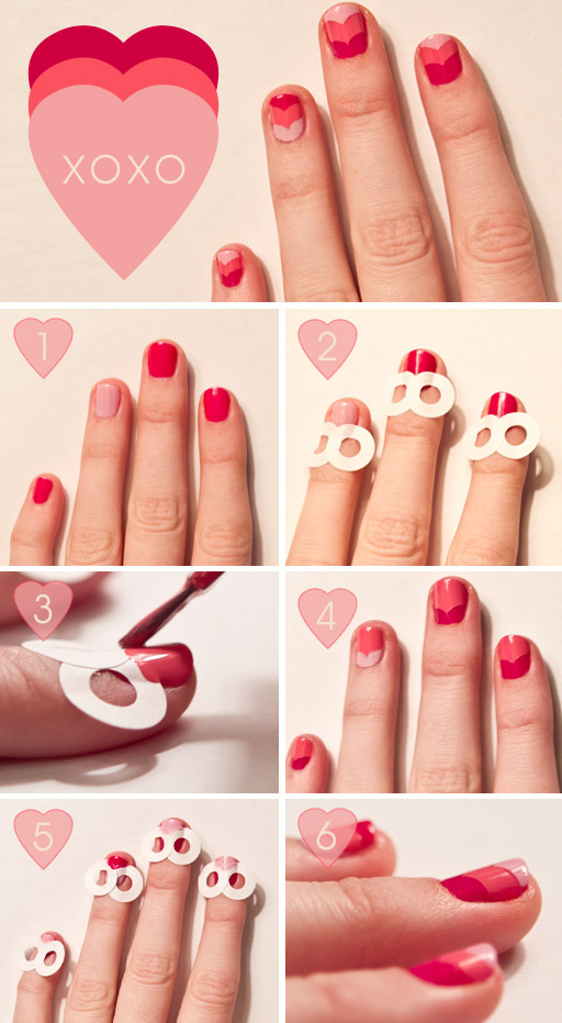 15 DIY Tutorials and Ideas for Cute Valentine's Day Nails