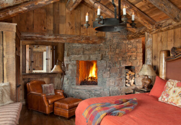 18 Cozy Cabin Bedroom Design Ideas - mountain cabin, Cozy Cabins, cozy cabin bedroom, cozy bedroom, cabin bedroom, bedroom design, bedroom decor