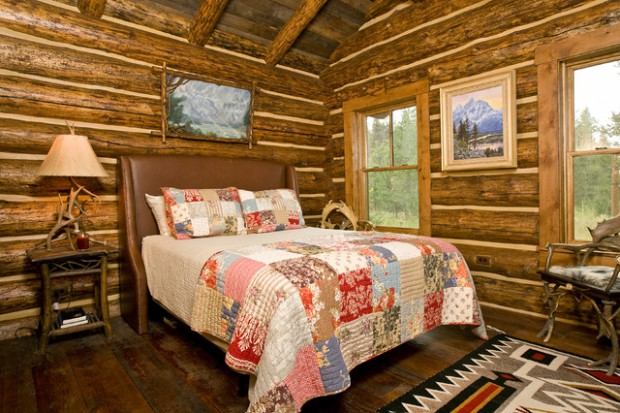 18 Cozy Cabin Bedroom Design Ideas - Style Motivation