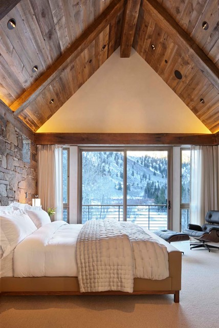 18 Cozy Cabin Bedroom Design Ideas