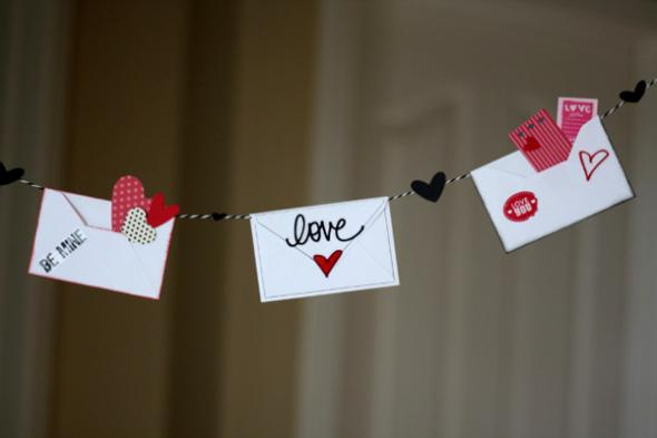 18 Cute and Easy DIY Valentine's Day Home Decorations