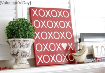 18 Cute and Easy DIY Valentine's Day Home Decorations - Valentine's day, diy Valentine's day decorations, diy Valentine's day, diy home decor