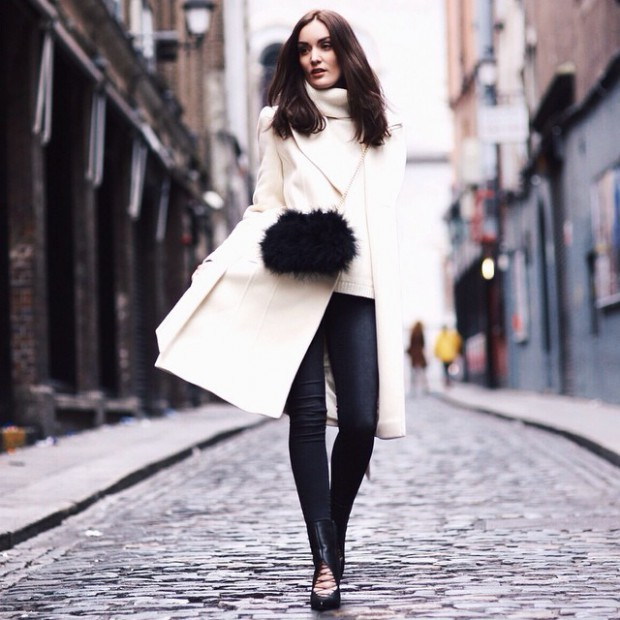 18 Cool Ways To Wear A White Coat Style Motivation