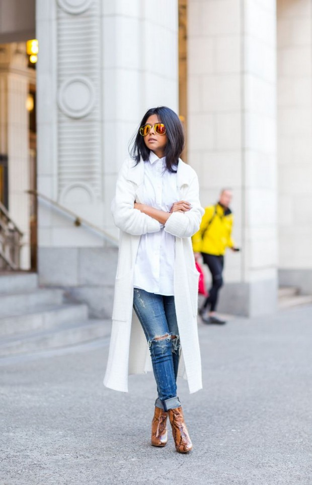 18 Cool Ways To Wear A White Coat
