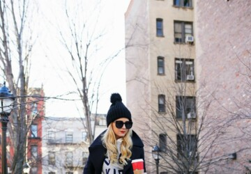 18 Stylish Ways To Wear Beanie Hat This Winter - winter street style, winter outfit ideas, outfit with beanie, how to wear, how to style, beanie outfit ideas, beanie