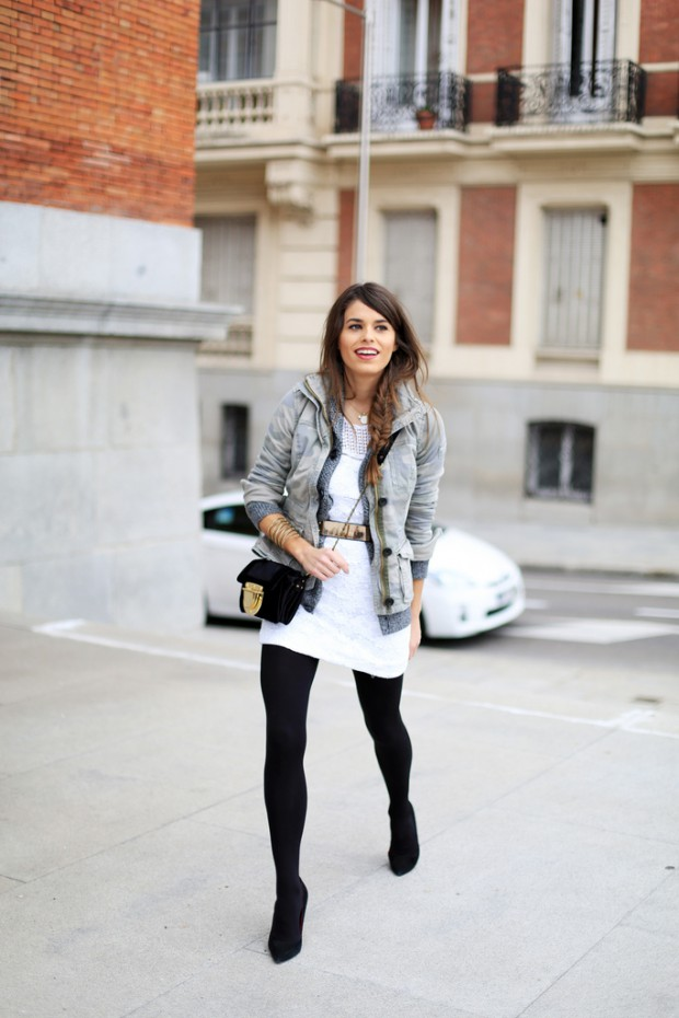 20 Stylish Ways to Style Back Tights for Perfect Winter Outfit
