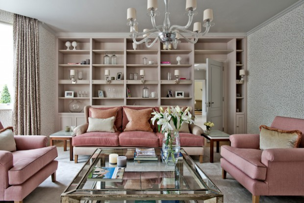 16 Charming Dusty Pink Interiors