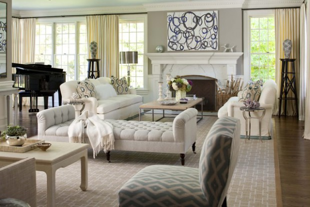 20 Tufted Furniture Decorating Ideas