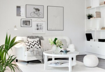 18 Light and Stylish Scandinavian Living Room Designs - Scandinavian style living room, Scandinavian style, Scandinavian interior, scandinavian, noridc, living rooms, Living room, home design, home