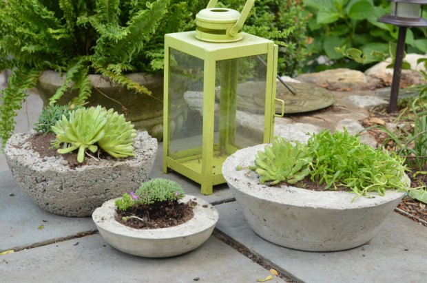 17 DIY Concrete Projects For Stylish Decorative Items
