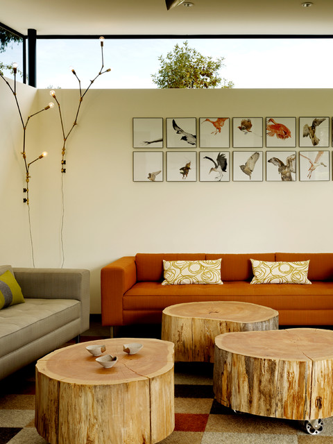 How To Style A Tree Trunk At Home: 20 Decorating Ideas