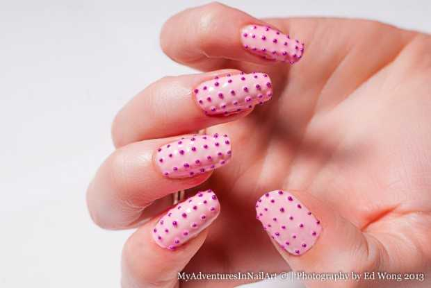 Studs and Embellishments: 17 Creative Nail Art Ideas
