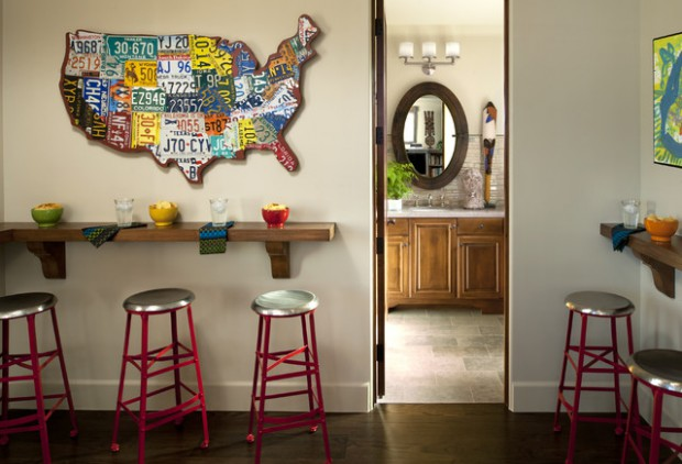 How To Use License Plates In Home Decor 15 Unique Decorating Ideas