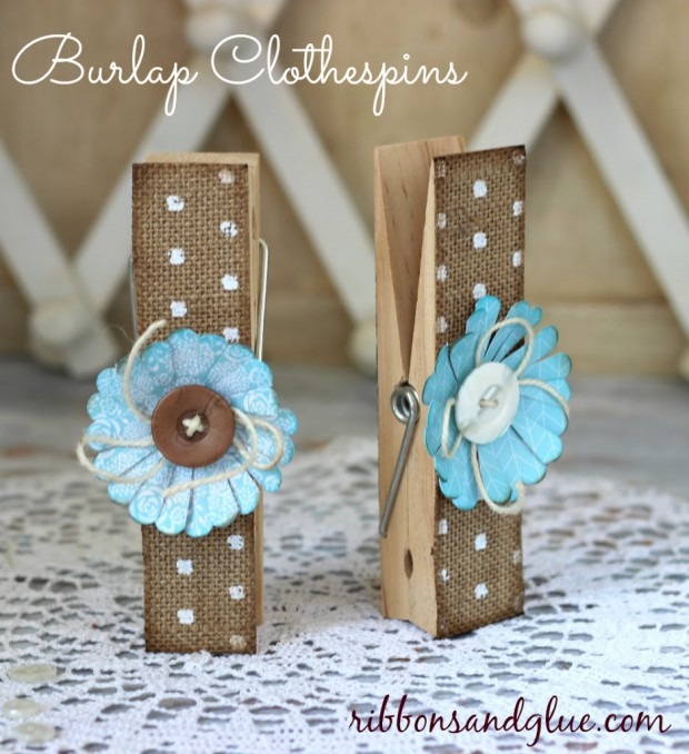 18 Easy Crafts With Clothespins