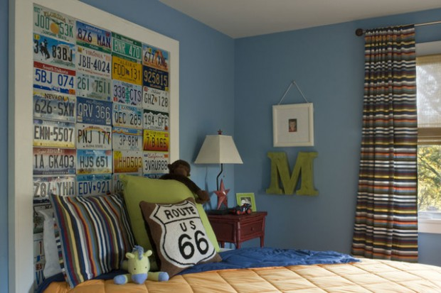 How To Use License Plates In Home Decor: 15 Unique Decorating Ideas