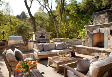 17 Exquisite Outdoor Spaces With Sofas - warm weather, sunny, sofas, sofa, relax, paradise, outdoors, outdoor spaces, outdoor space, outdoor sofas, outdoor sofa, outdoor living, outdoor, heaven, exquisite, Enjoy