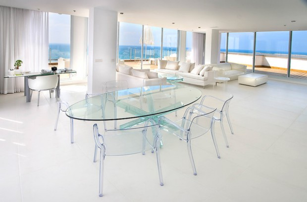 Be Transparent: 16 Clear Furniture Ideas in Modern Design